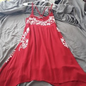 Red Maurices dress